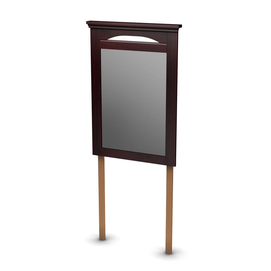 South Shore Noble Dark Mahogany Mirror