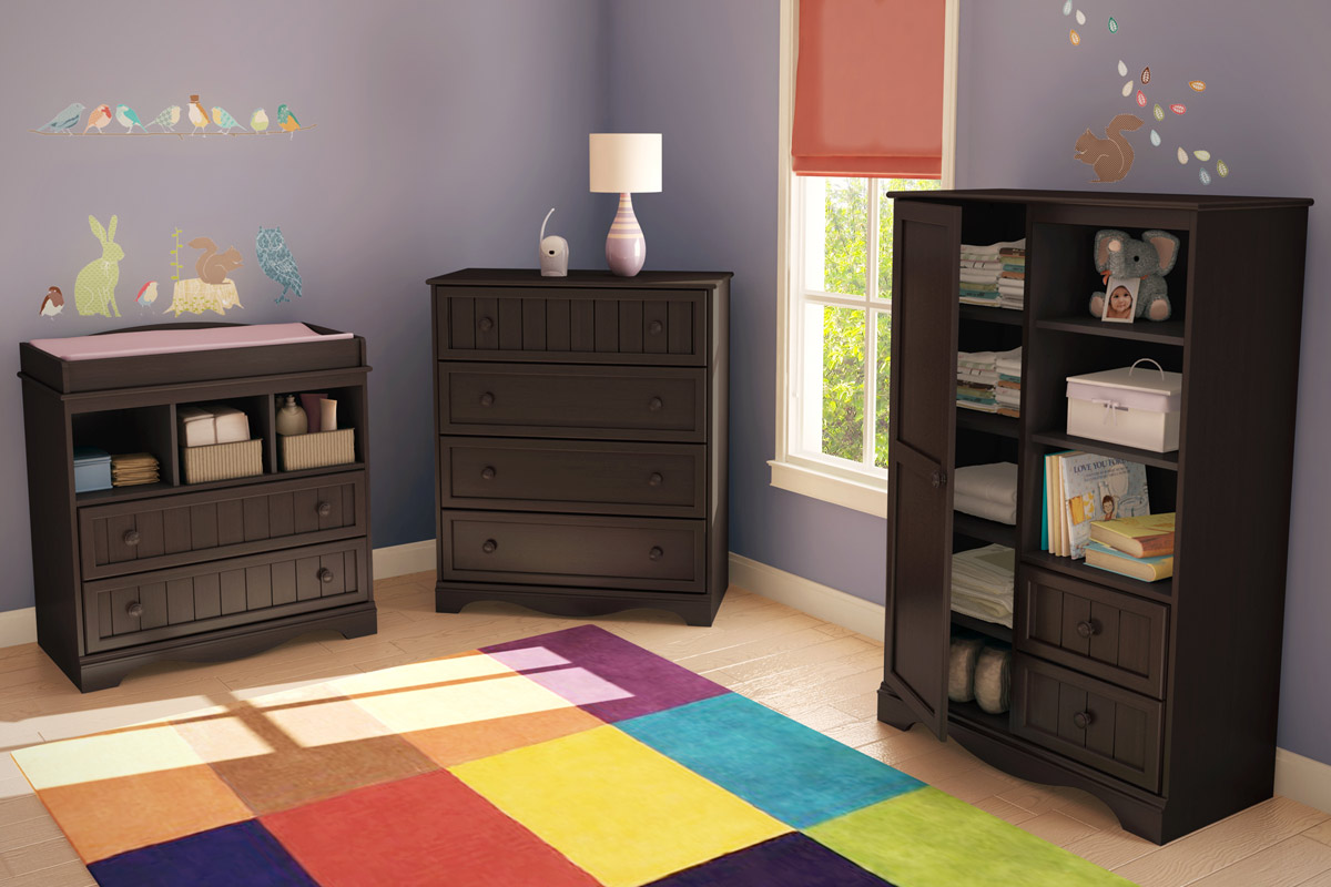 South Shore Savannah Drawer Set - Espresso