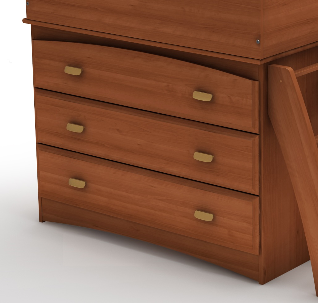 South Shore Imagine Morgan Cherry 3 Drawer Chest