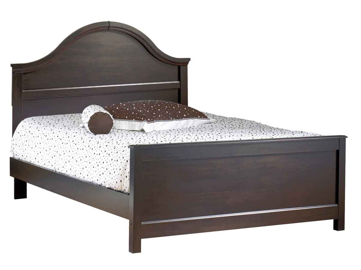 South Shore Mountain Lodge Ebony Queen Bed
