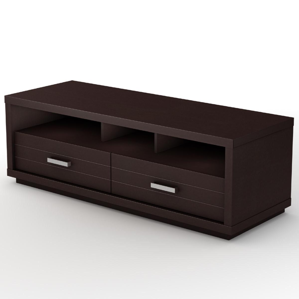 South Shore Skyline TV Stand - Chocolate 4359663