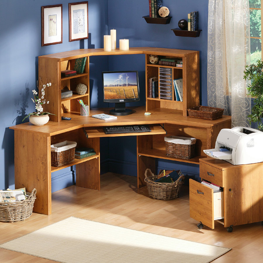 Buy Country Pine Corner Desk Online Confidently