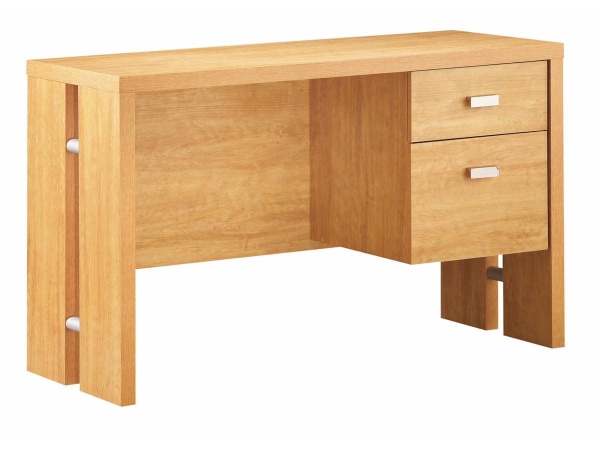 shore element florence maple office desk 7275711