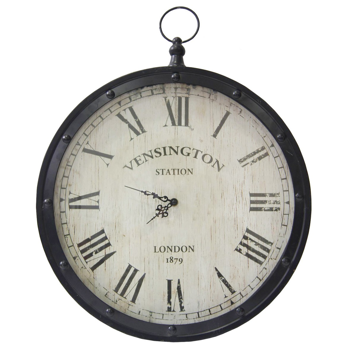 Stratton home decor pocket watch clock black s02383 at for Stratton house