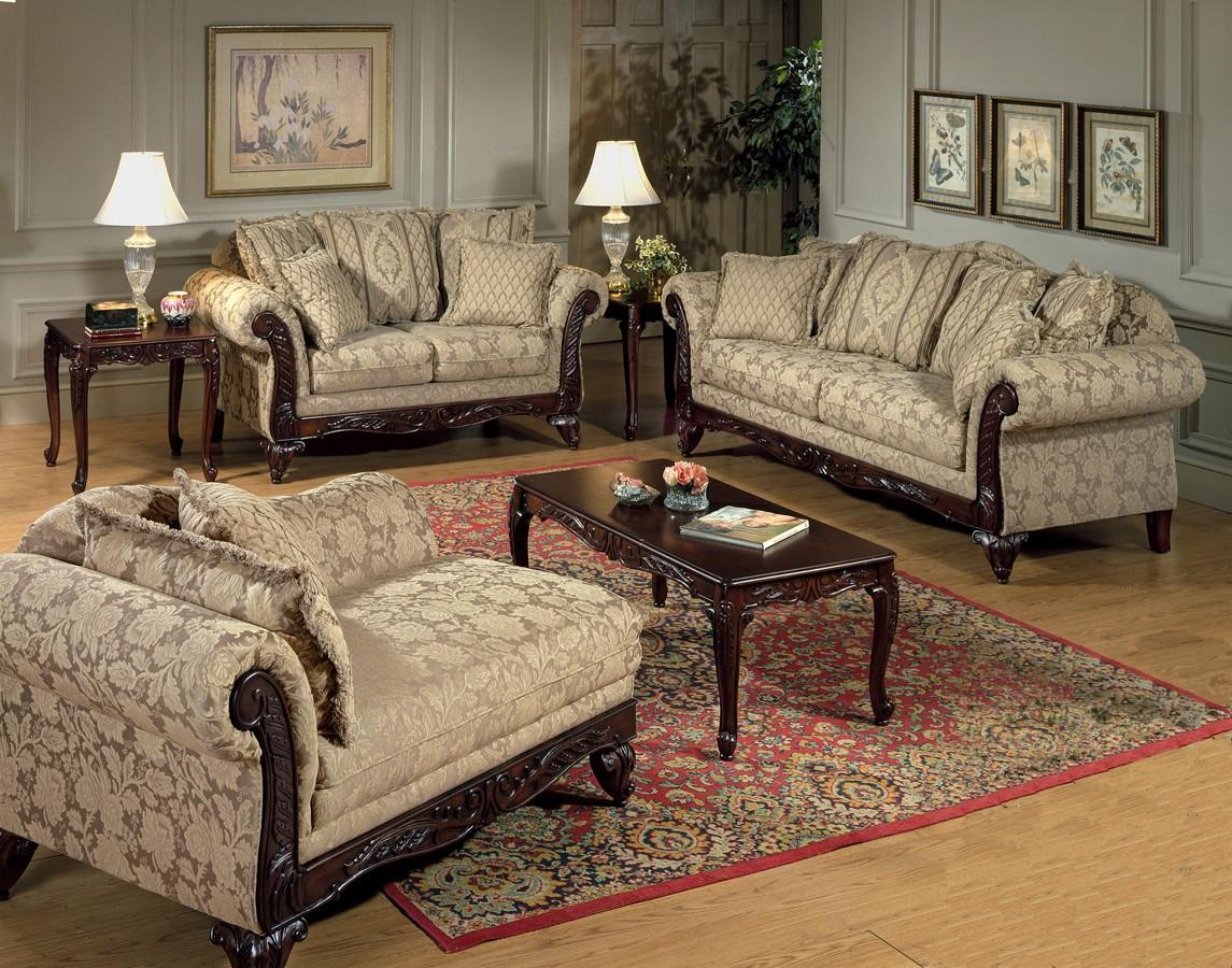 High-class Serta Upholstery Sofa Set Kelsey Carmel Product Photo