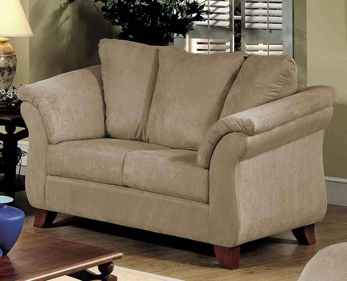 Remarkable Serta Upholstery SU L GiGi Love Seat Sienna Mocha Product Photo