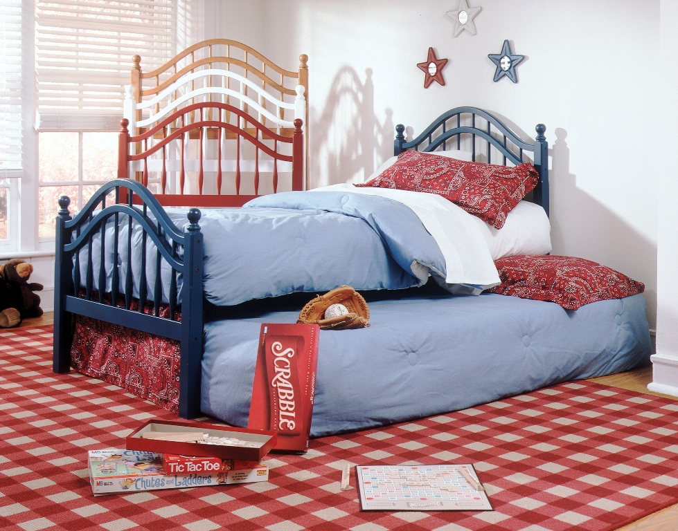 Fashion Bed Group Springhill Bed in Burnt Red