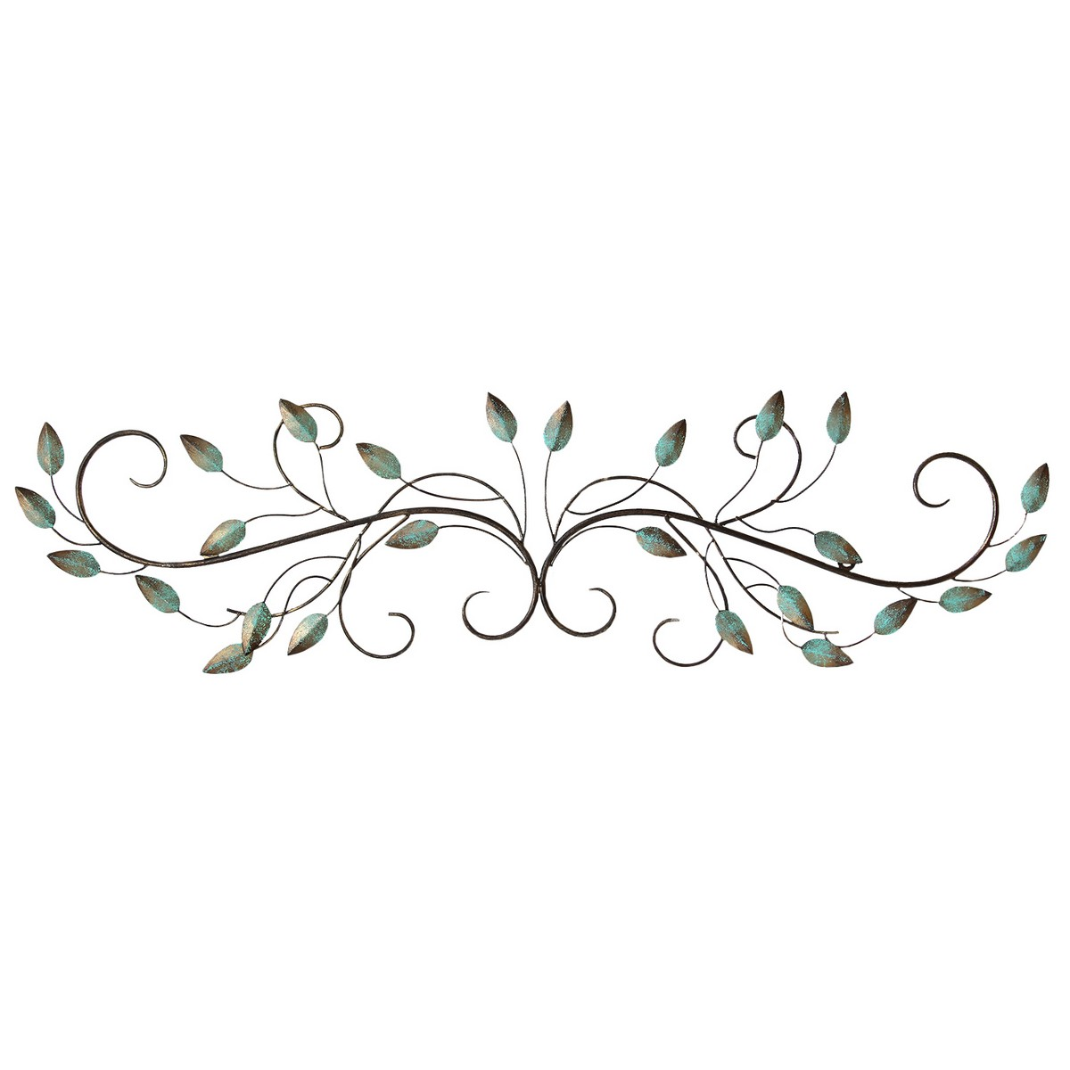 Stratton Home Decor Patina Scroll Leaf Patina Shd0065 At