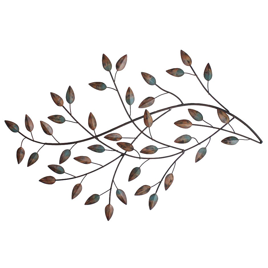 Stratton Home Decor Blowing Leaves Wall Decor - Multi