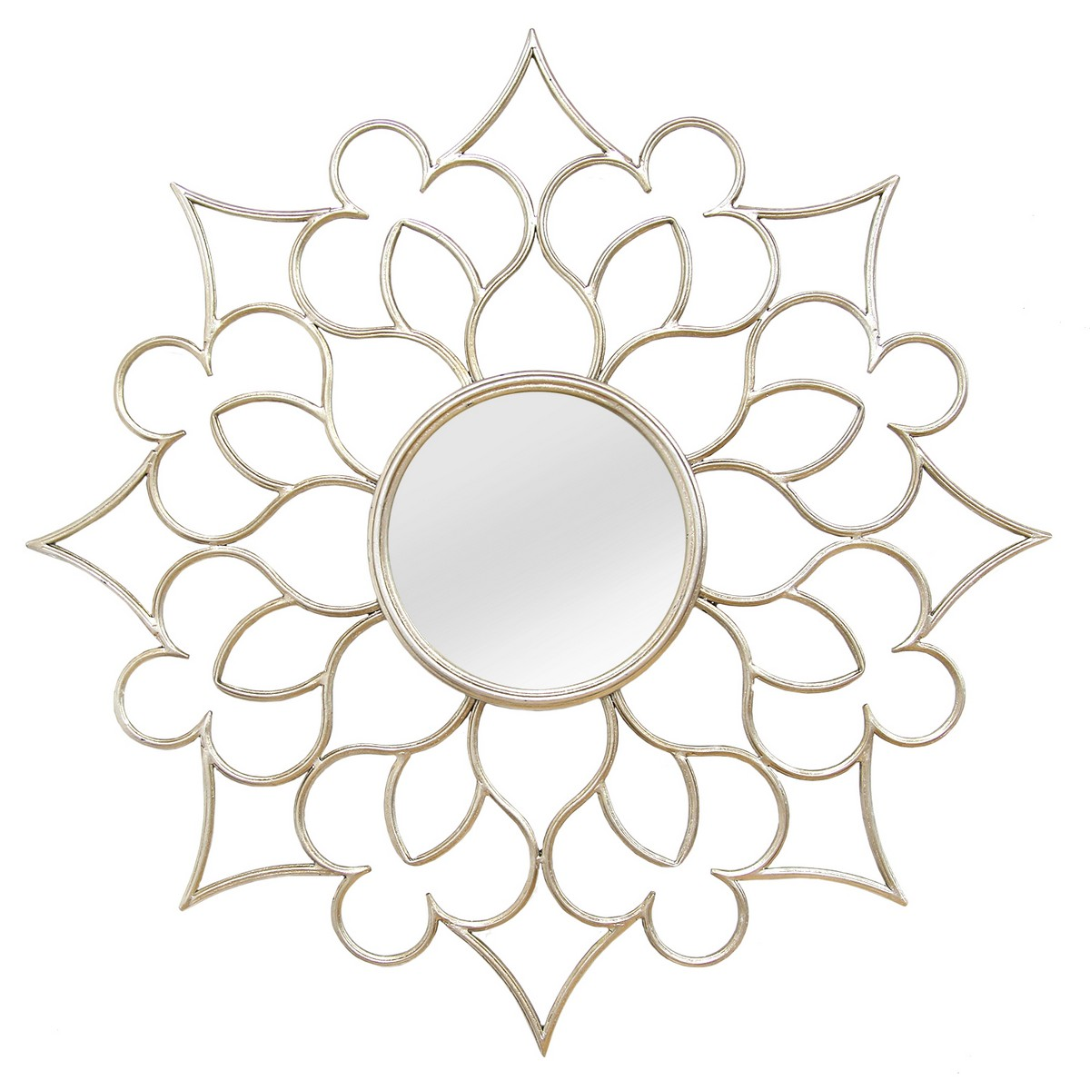 Stratton Home Decor Francesca Wall Mirror - Silver