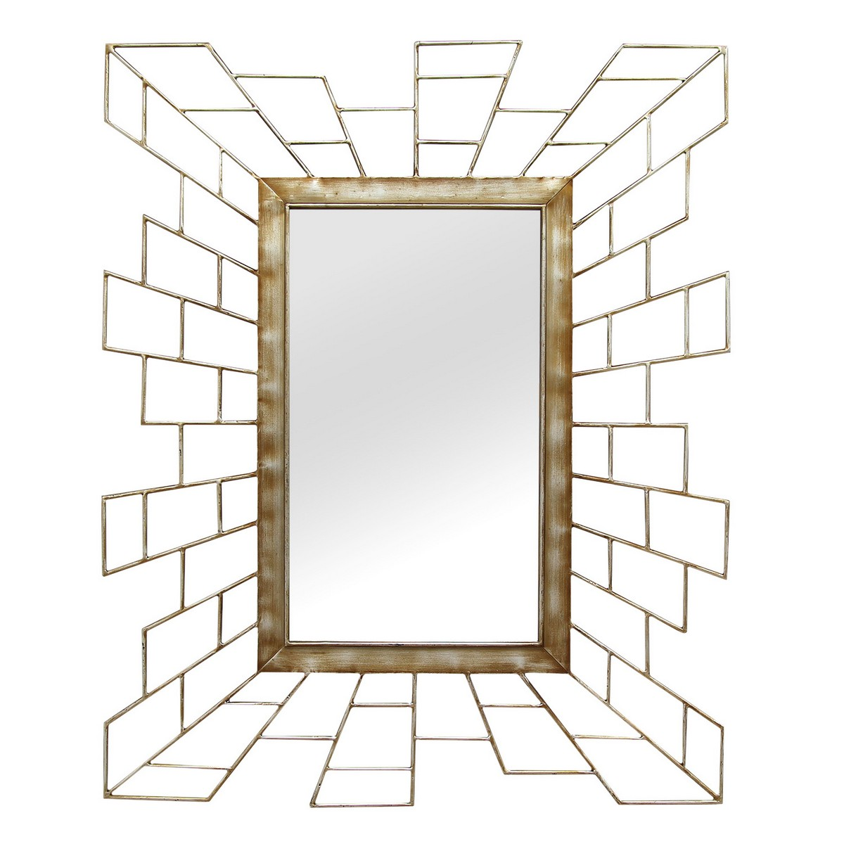 Stratton home decor jennifer wall mirror gold shd0160 at for Stratton house