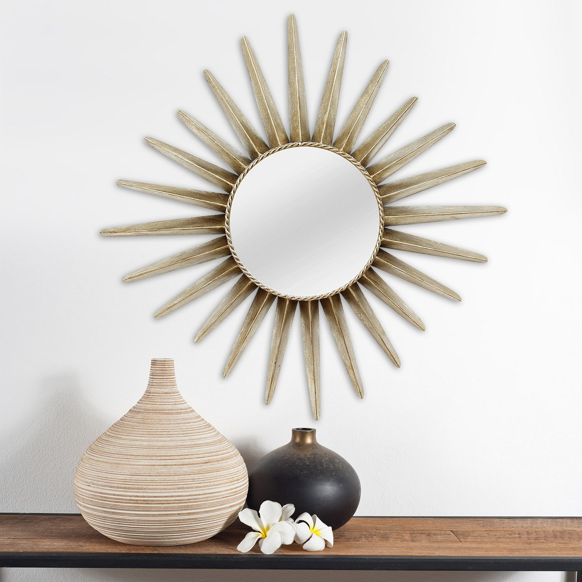 Stratton Home Decor Charlotte Wall Mirror - Bronze