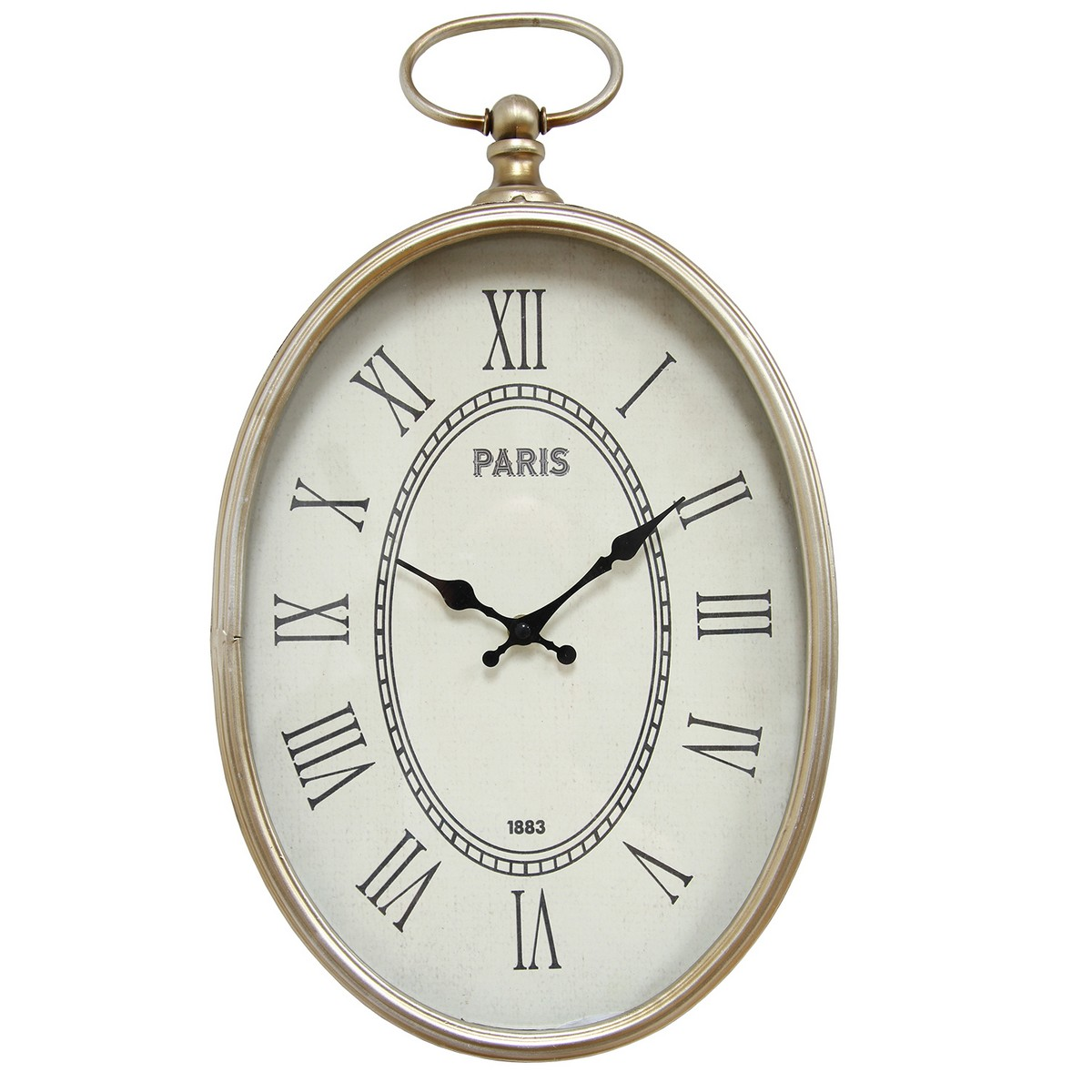 Stratton home decor elegant wall clock champagne shd0186 for Stratton house