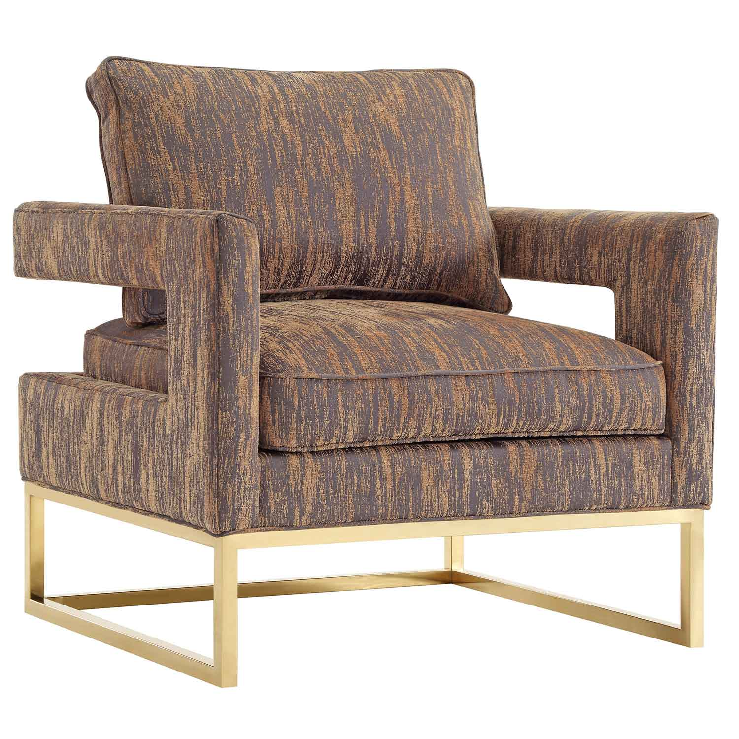 TOV Furniture Avery Chair - Gold