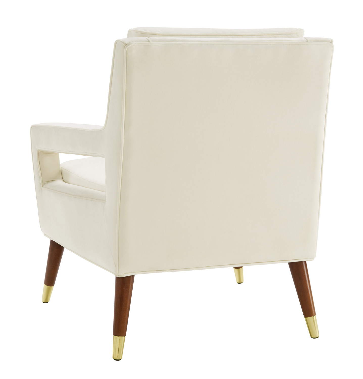 TOV Furniture Draper Chair - Cream