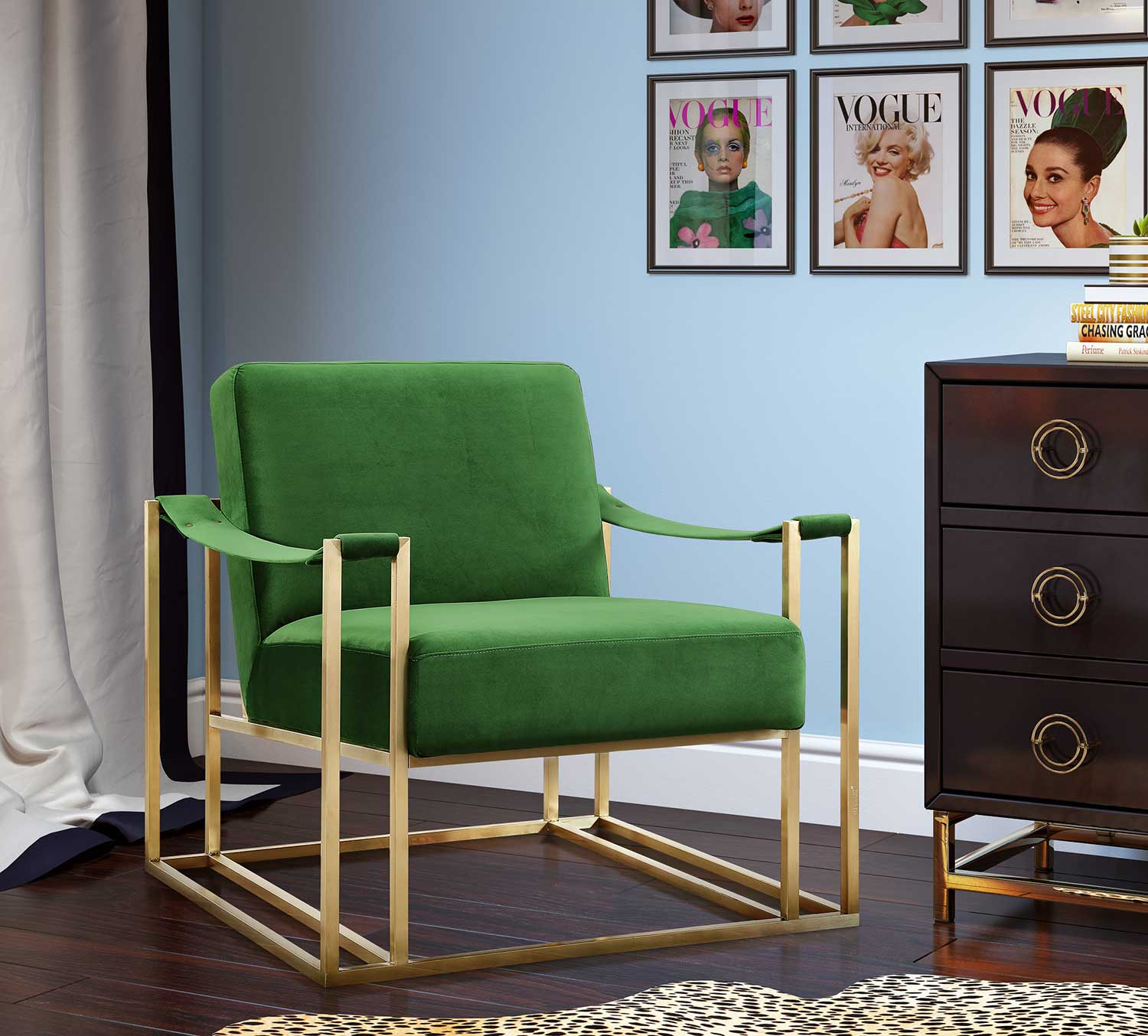 TOV Furniture Baxter Chair - Green