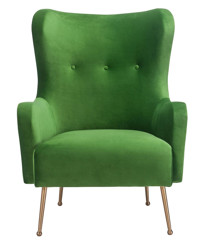 TOV Furniture Ethan Chair - Green