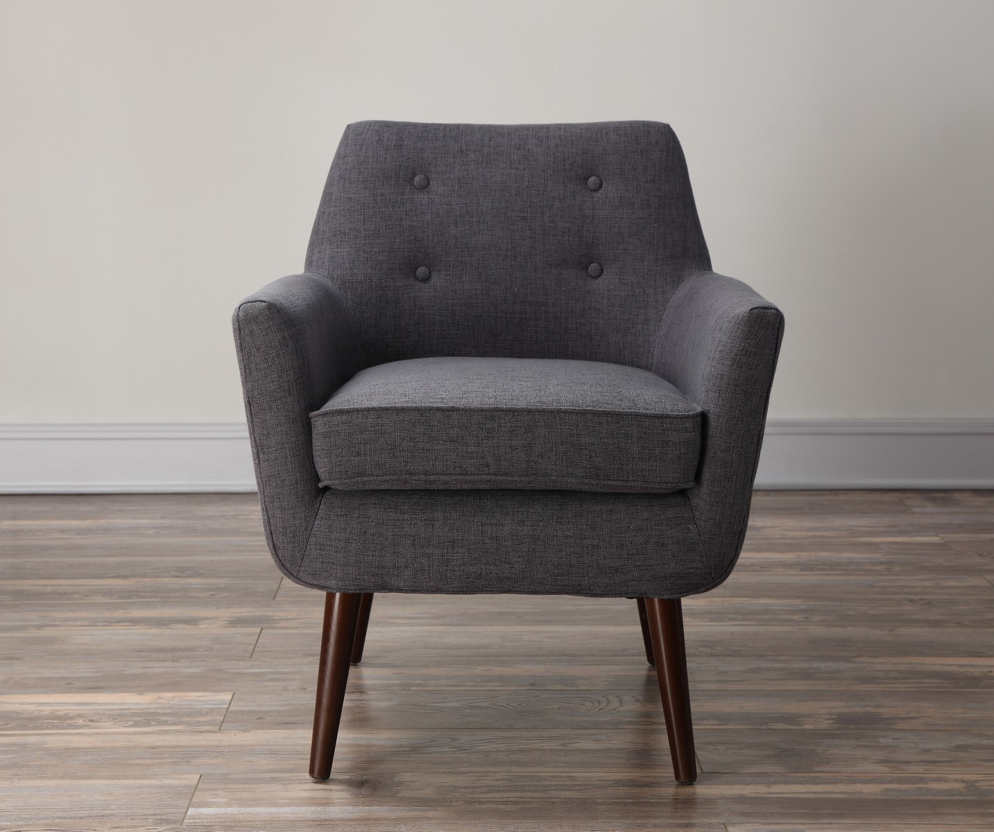 TOV Furniture Clyde Grey Linen Chair