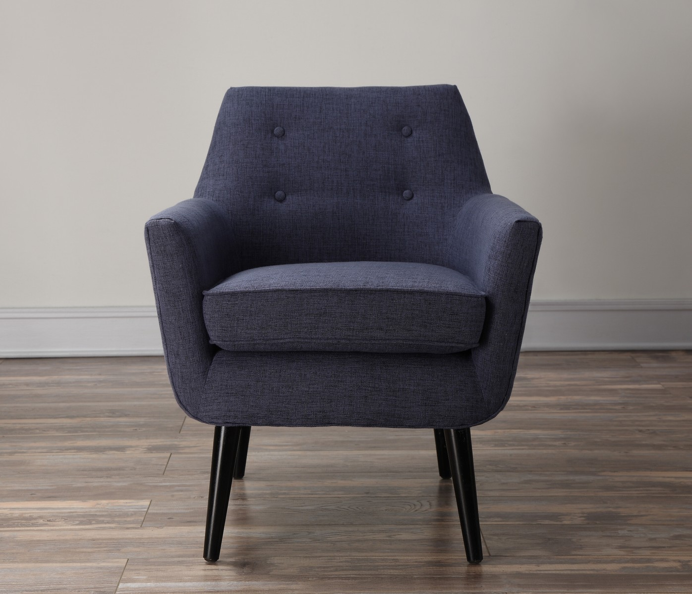 TOV Furniture Clyde Navy Linen Chair