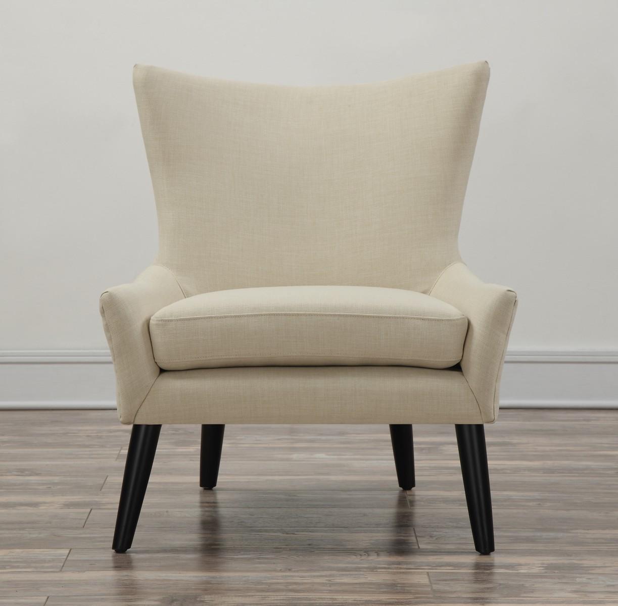 TOV Furniture Sullivan Beige Linen Chair