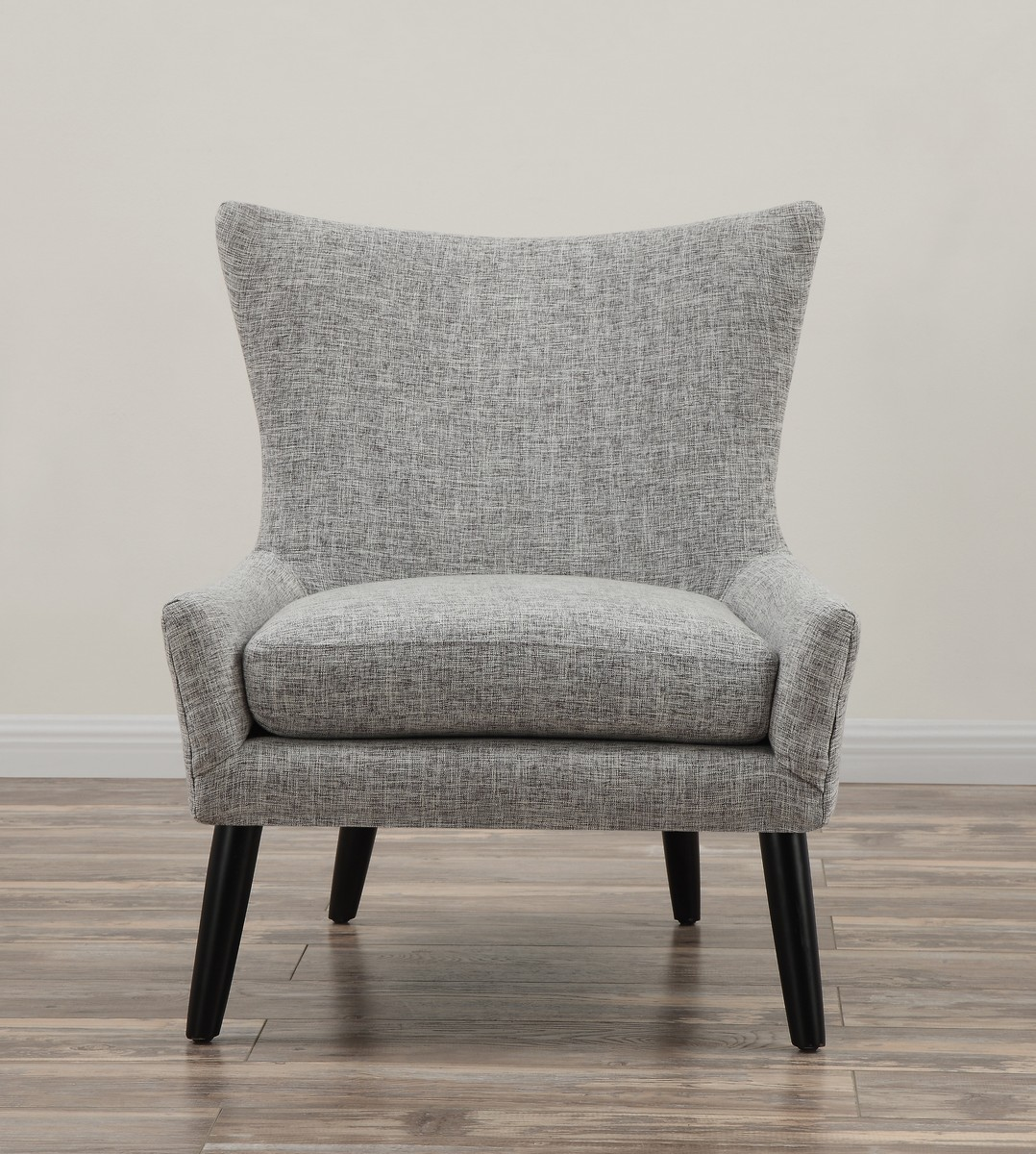 TOV Furniture Sullivan Grey Linen Chair