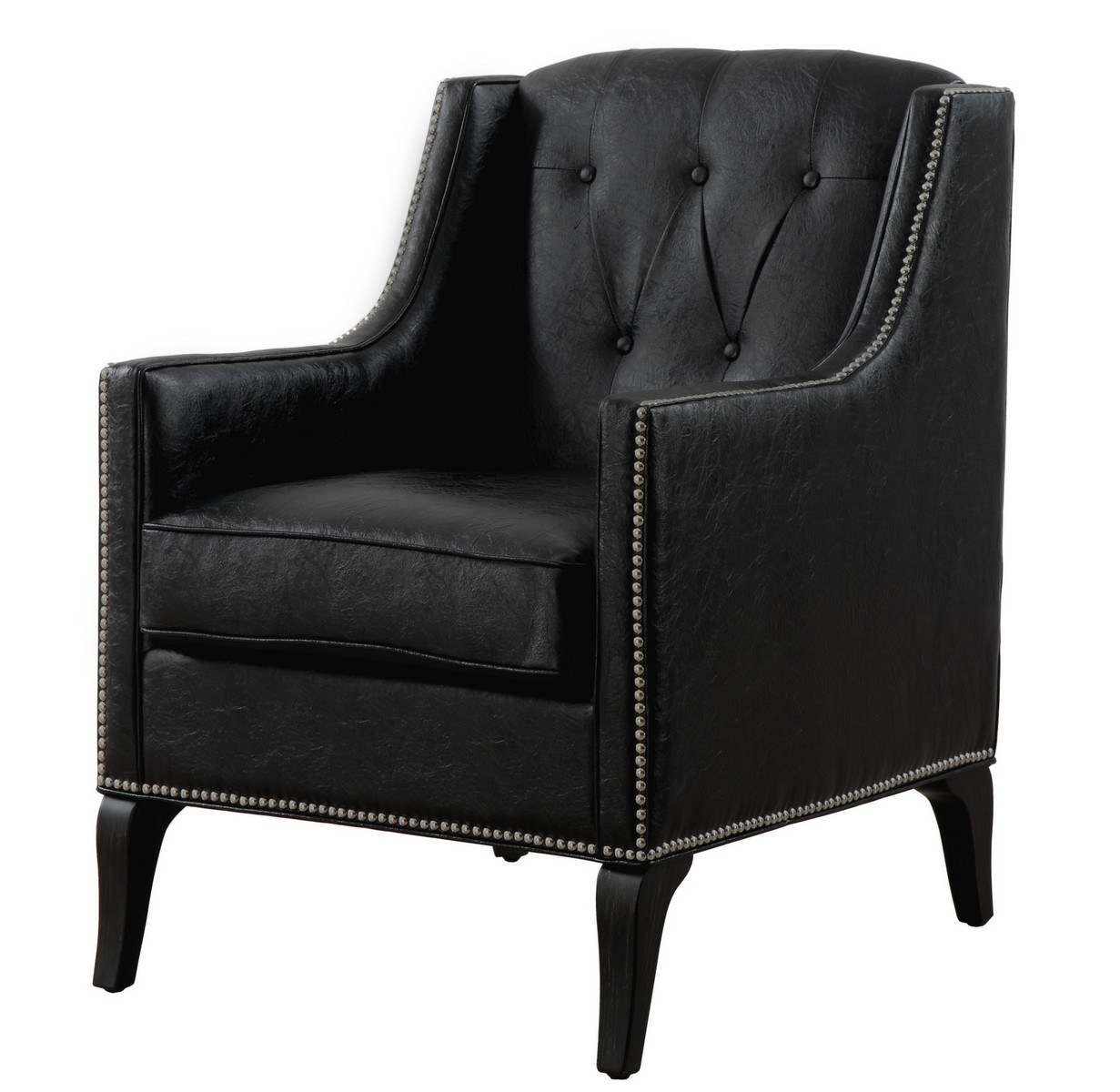 TOV Furniture Roxbury Leather Club Chair