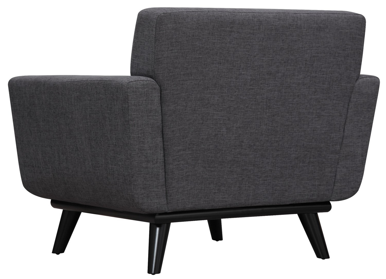 TOV Furniture James Grey Linen Chair
