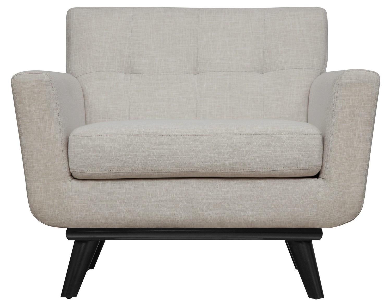 TOV Furniture James Beige Linen Chair