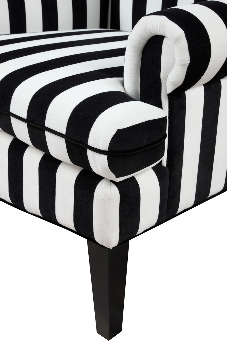 TOV Furniture Paris Velvet Wingback Chair