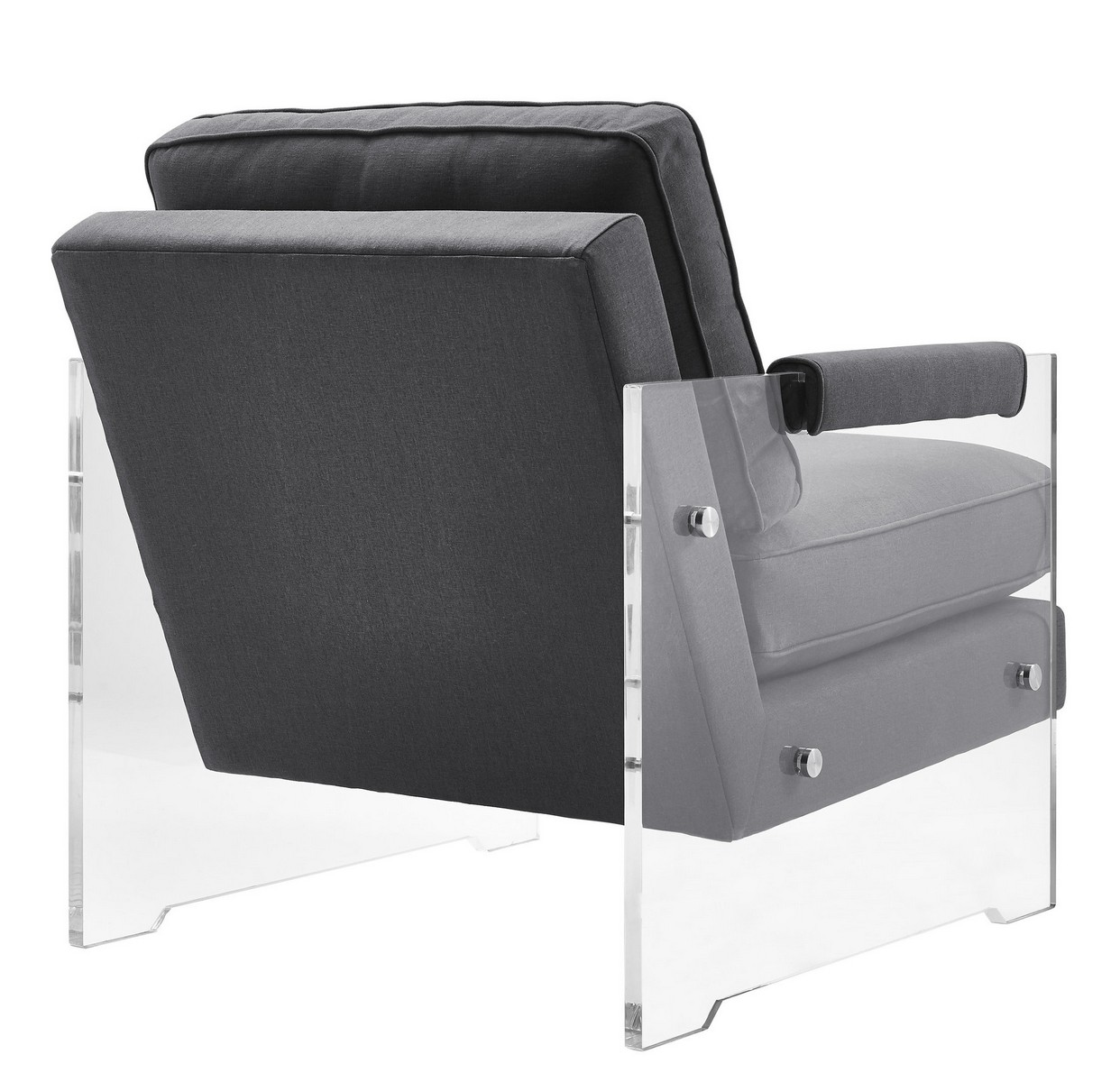 TOV Furniture Serena Floating Lucite Chair