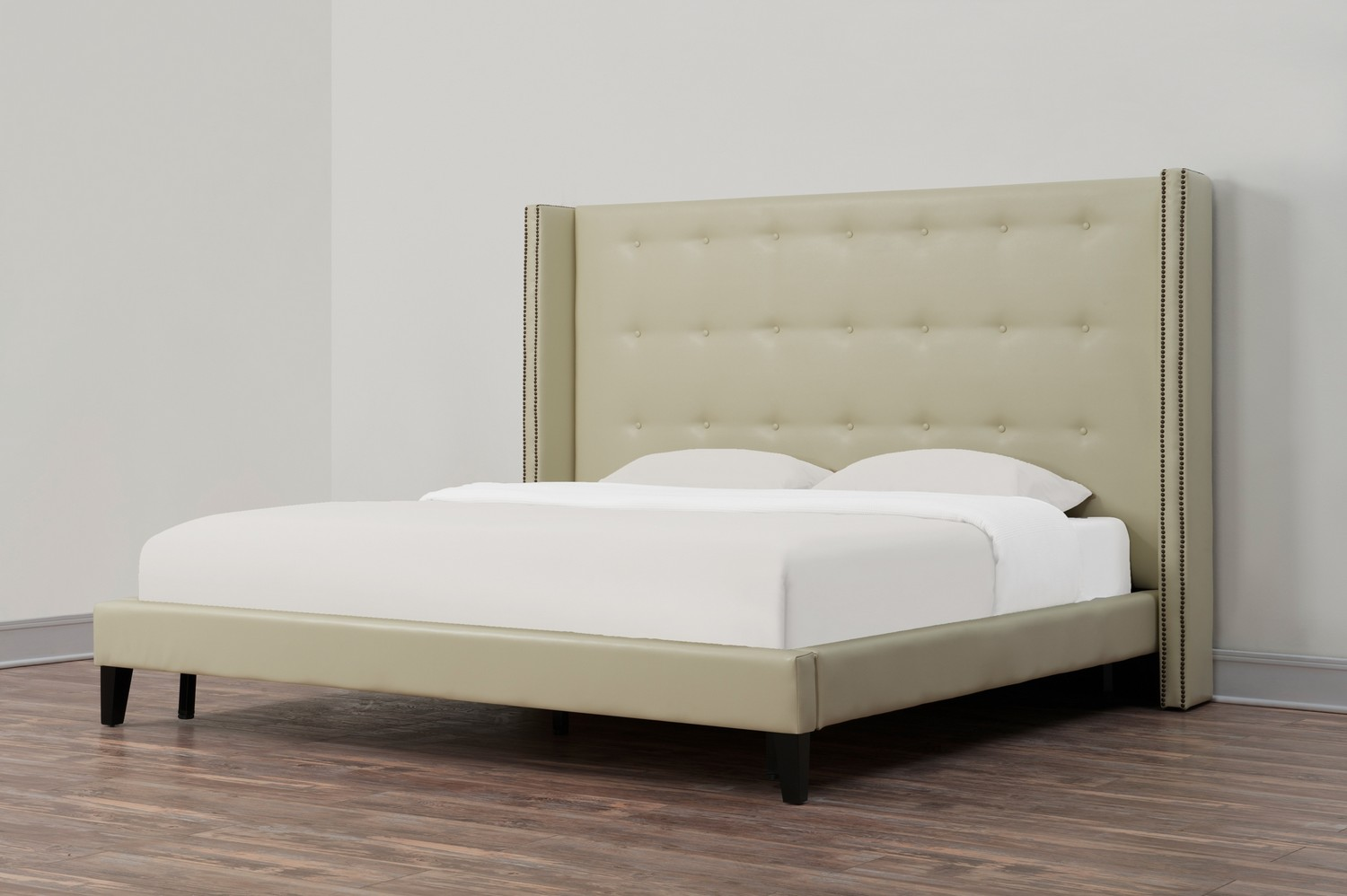 TOV Furniture Greenpoint Leather Bed