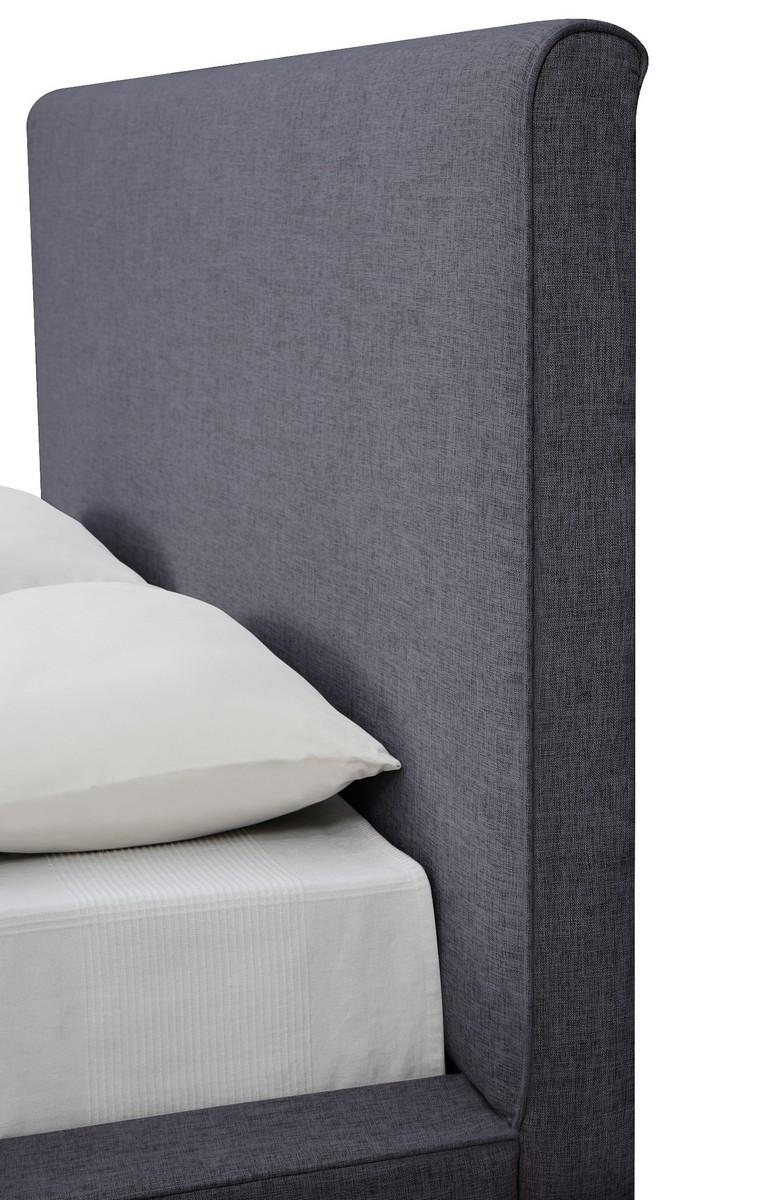 TOV Furniture Nixon Grey Linen Bed