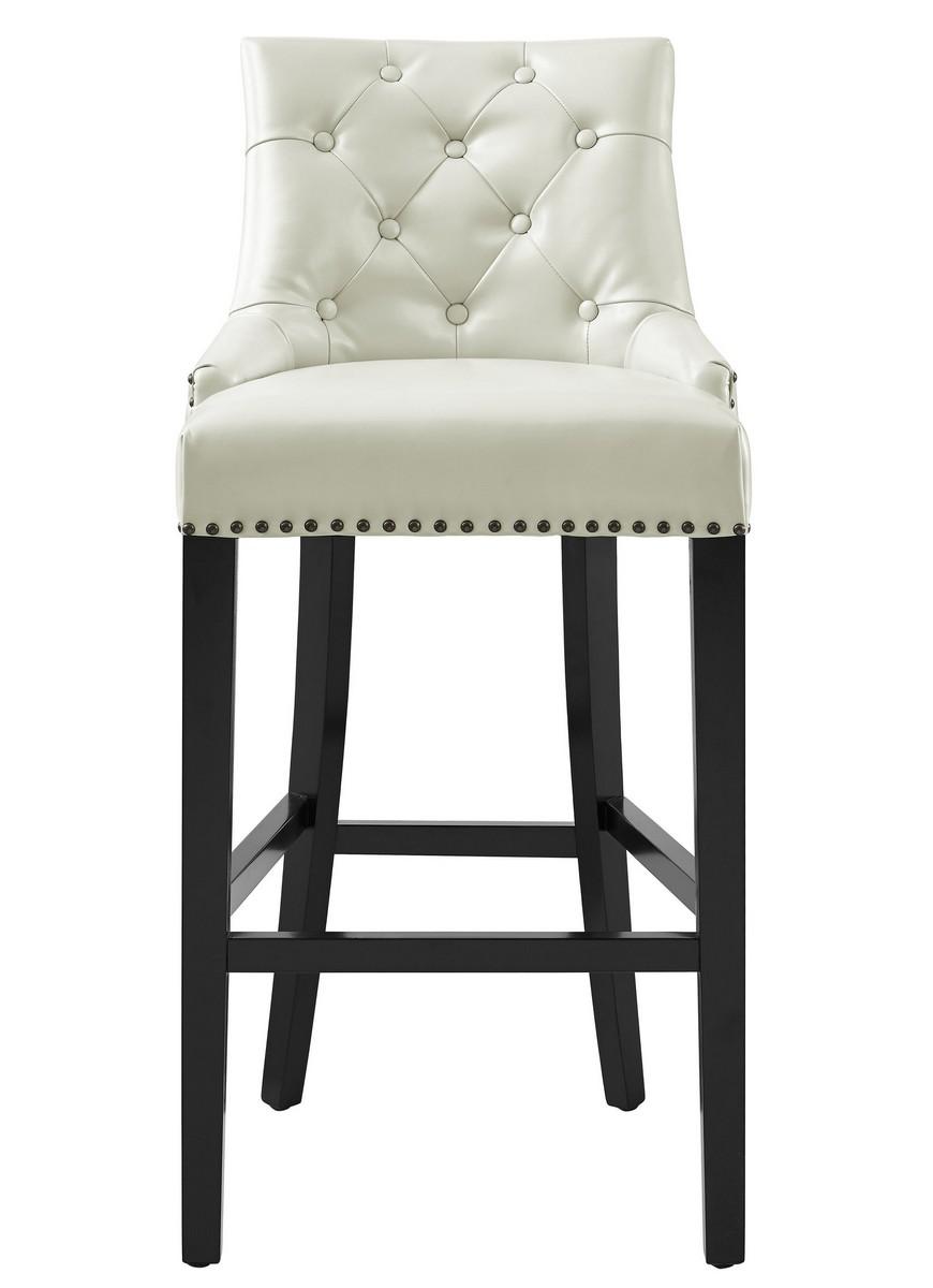 tov furniture modern uptown leather velvet chair