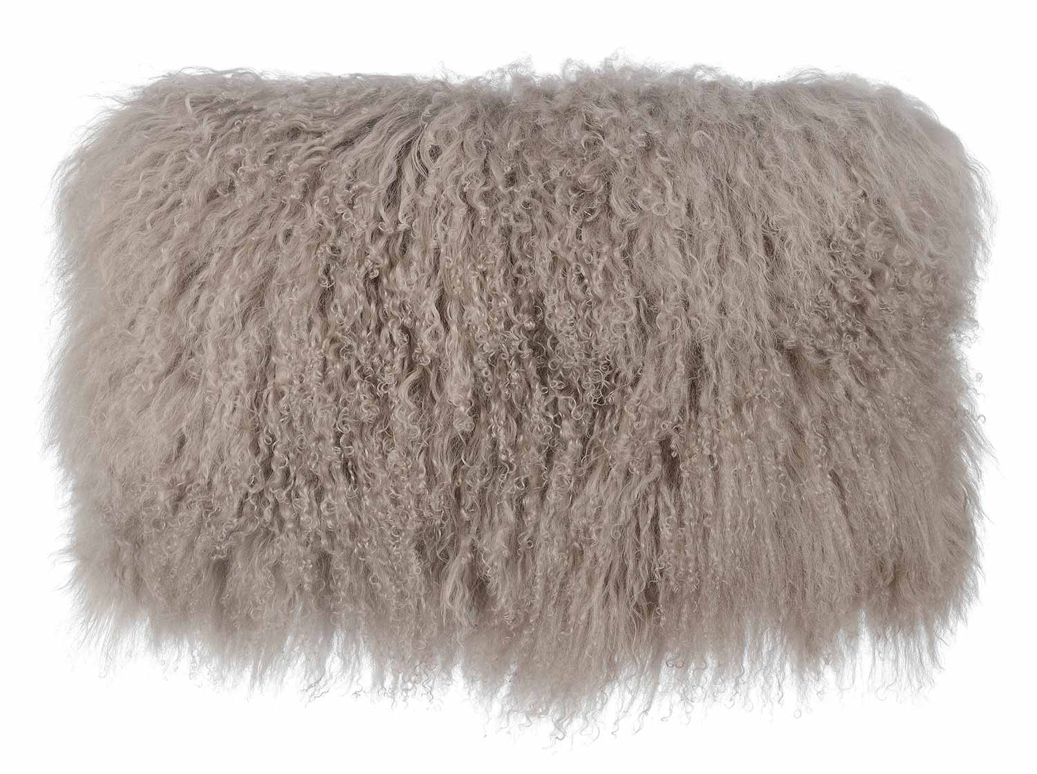 TOV Furniture Tibetan Sheep Large Pillow - Brown
