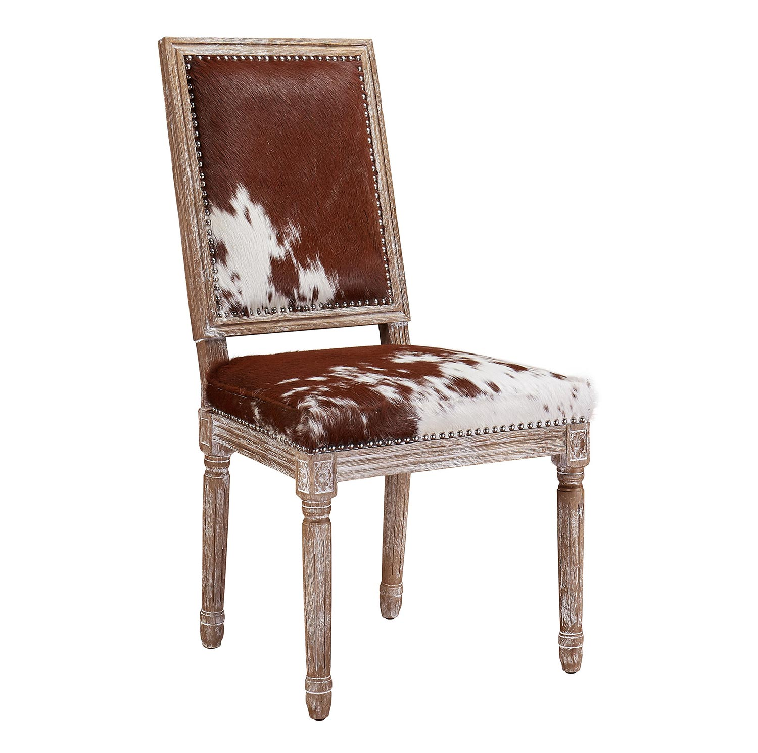 TOV Furniture Cowgirl Hide Chair - Cowhide - Set of 2