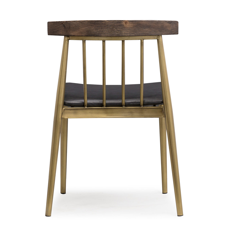 TOV Furniture Alfie Chair - Grey - Set of 2