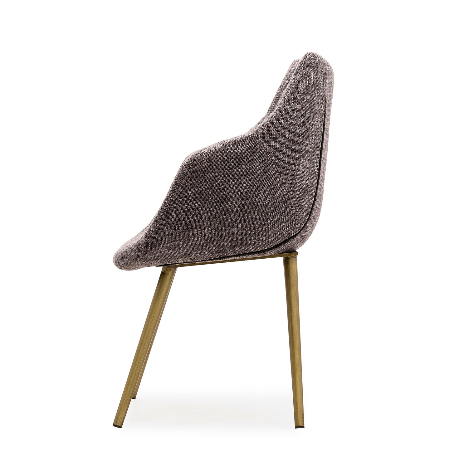 TOV Furniture Finn Tweed Chair - Grey