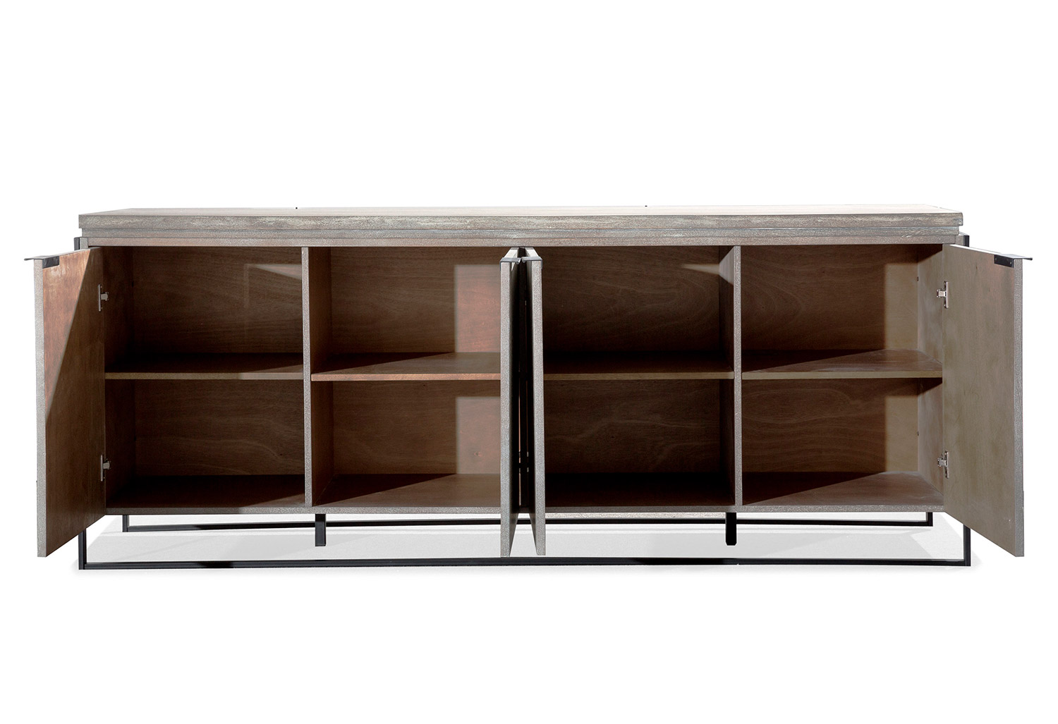 TOV Furniture Westwood Elm Buffet - Grey/Brown