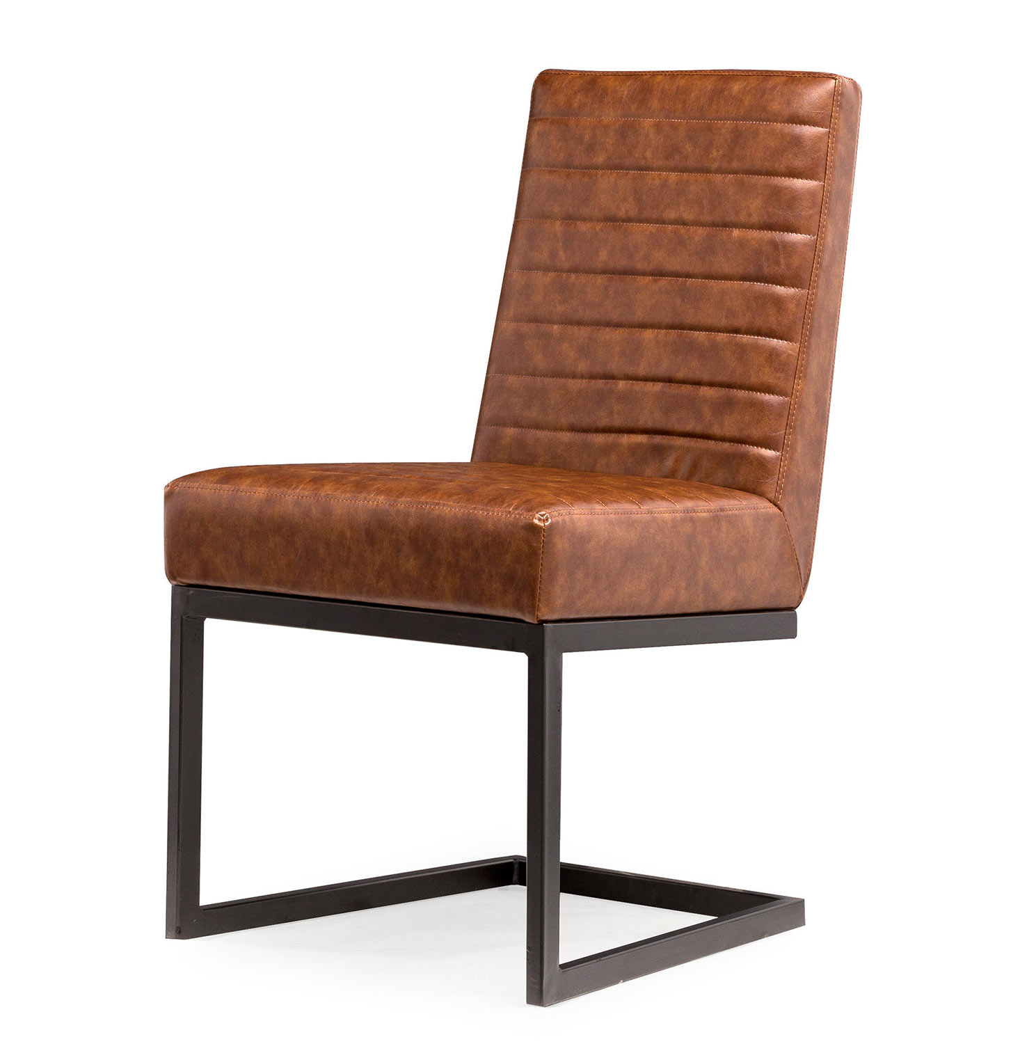 TOV Furniture Austin Chair - Brown/Black - Set of 2