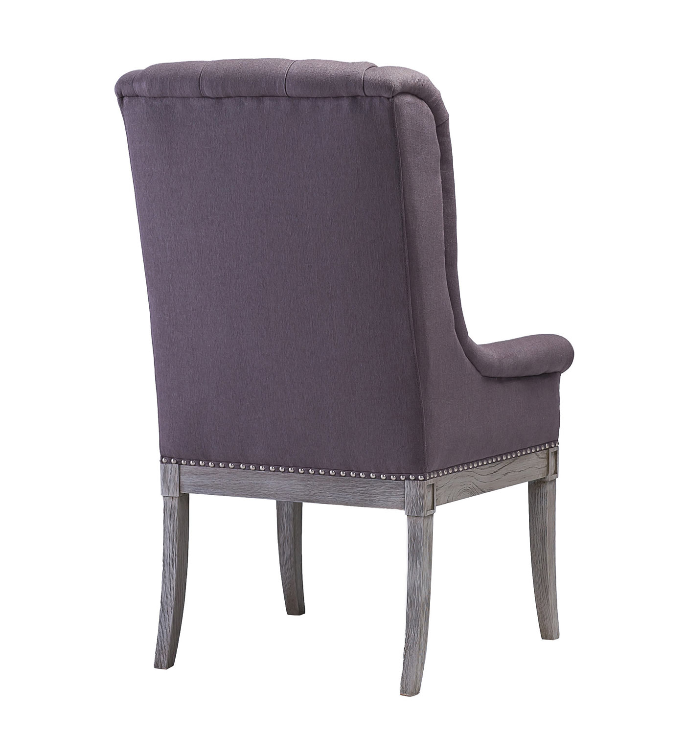 TOV Furniture Addington Arm Chair - Grey