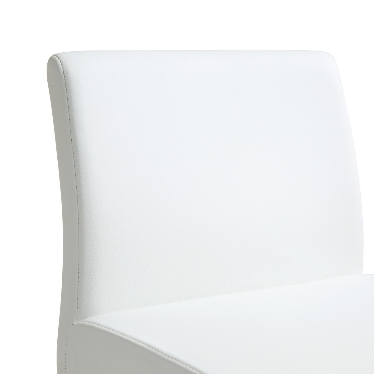 TOV Furniture Denmark White Stainless Steel Counter Stool (Set of 2)