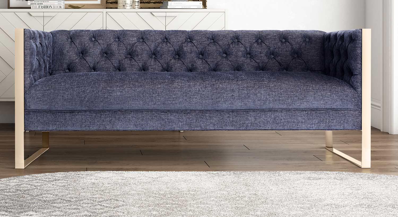Tov Furniture Farah Sofa Navy L4902