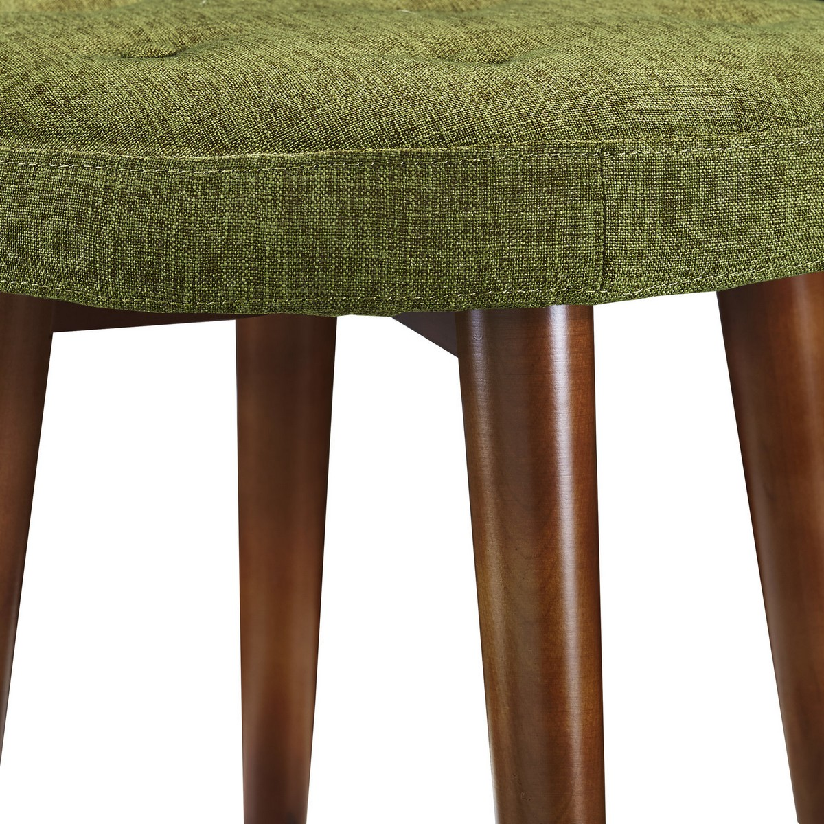TOV Furniture Malmo Green Linen Stool