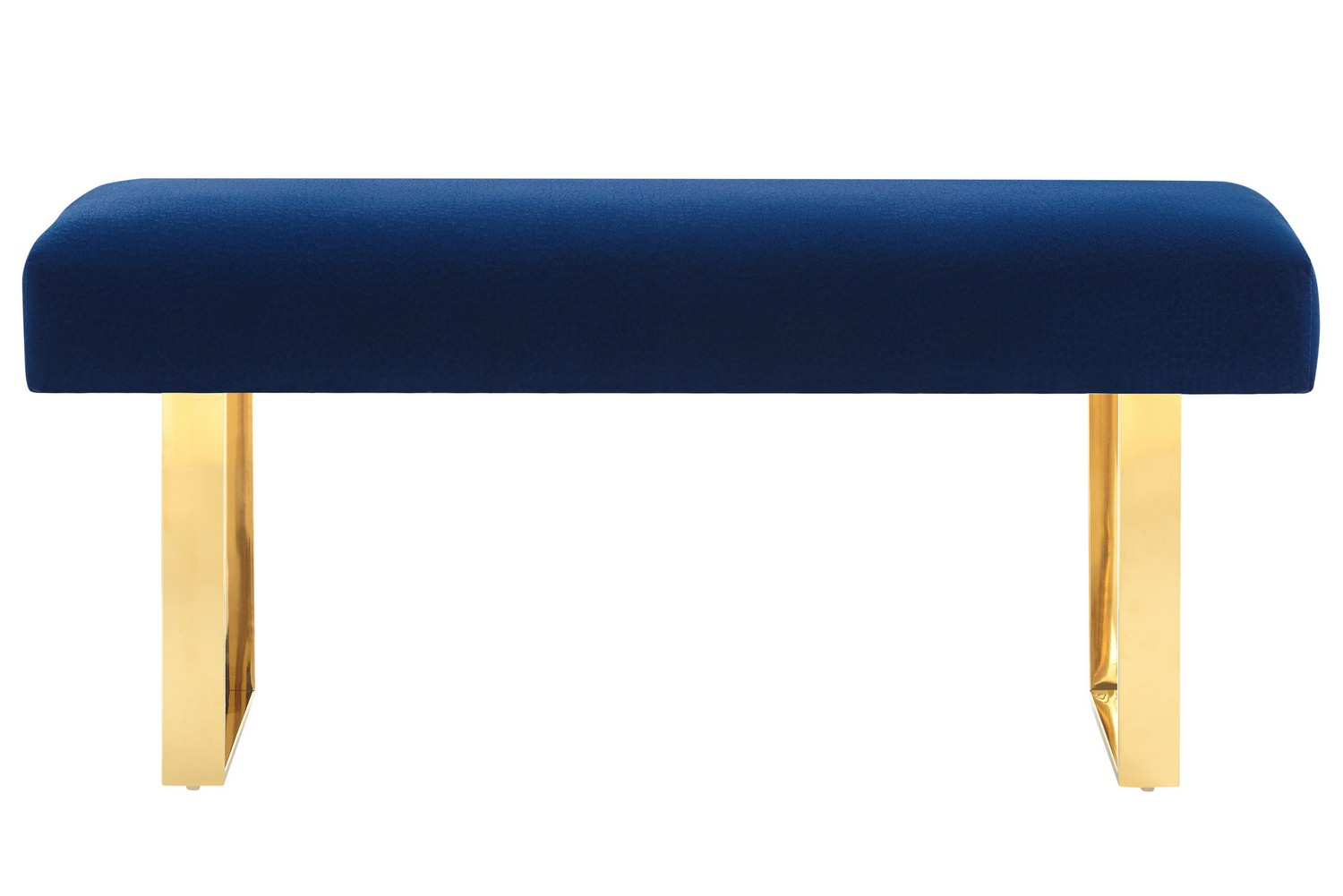 TOV Furniture Alexis Velvet Bench