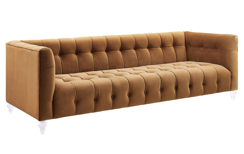 TOV Furniture Bea Sofa - Cognac
