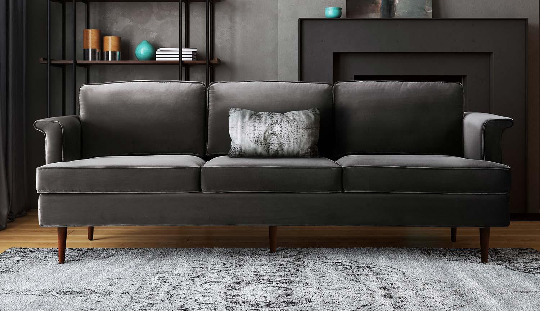 TOV Furniture Porter Sofa - Grey