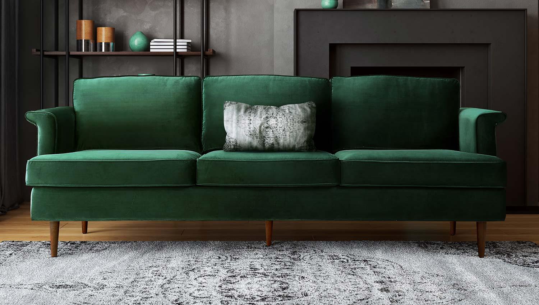 TOV Furniture Porter Sofa - Green