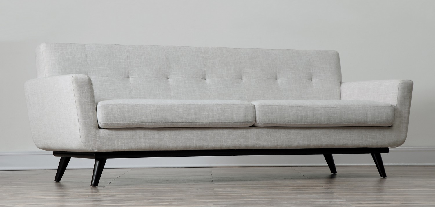 TOV Furniture James Beige Linen Sofa