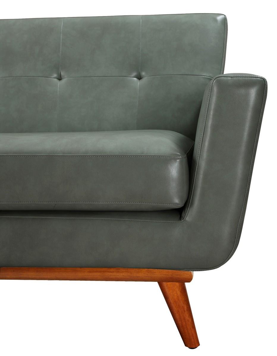 TOV Furniture Lyon Smoke Grey Sofa