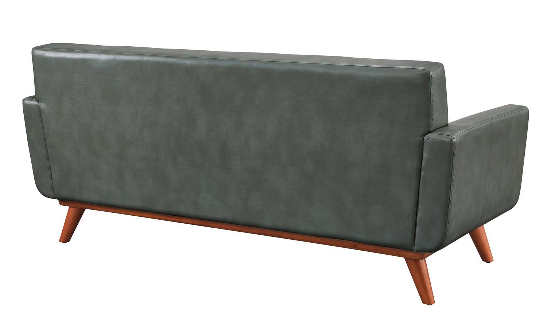 TOV Furniture Lyon Smoke Grey Loveseat